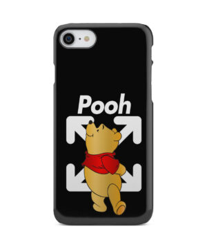 Winnie The Pooh Off White for Stylish iPhone 8 Case Cover