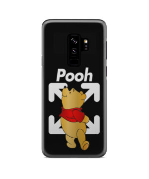 Winnie The Pooh Off White for Stylish Samsung Galaxy S9 Plus Case