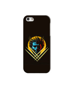 Wolverine Character Art for Personalised iPhone 5 Case