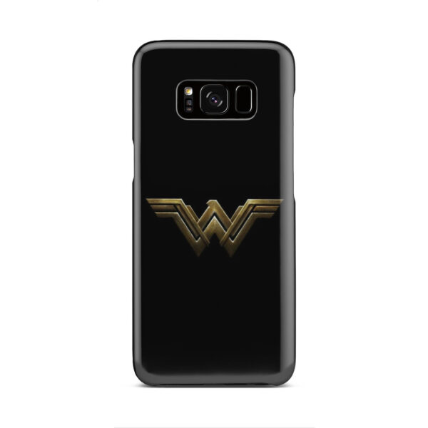 Wonder Woman Logo for Amazing Samsung Galaxy S8 Case Cover
