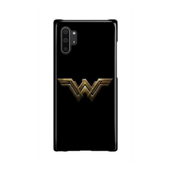 Wonder Woman Logo for Beautiful Samsung Galaxy Note 10 Plus Case
