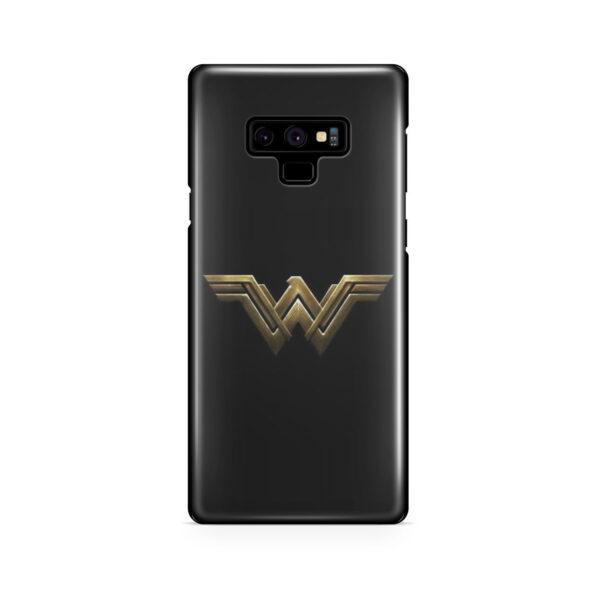 Wonder Woman Logo for Beautiful Samsung Galaxy Note 9 Case