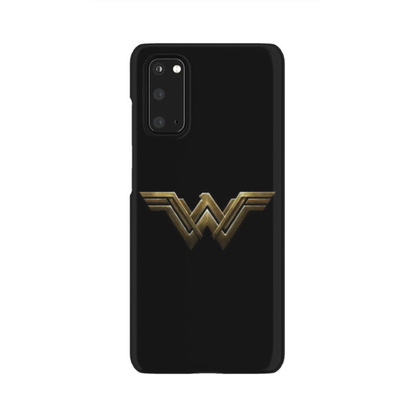 Wonder Woman Logo for Best Samsung Galaxy S20 Case