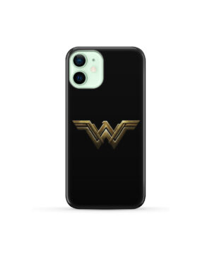 Wonder Woman Logo for Cool iPhone 12 Mini Case Cover