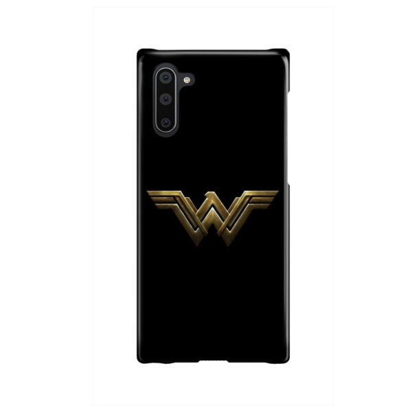 Wonder Woman Logo for Newest Samsung Galaxy Note 10 Case Cover