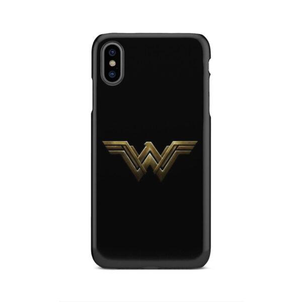 Wonder Woman Logo for Premium iPhone XS Max Case
