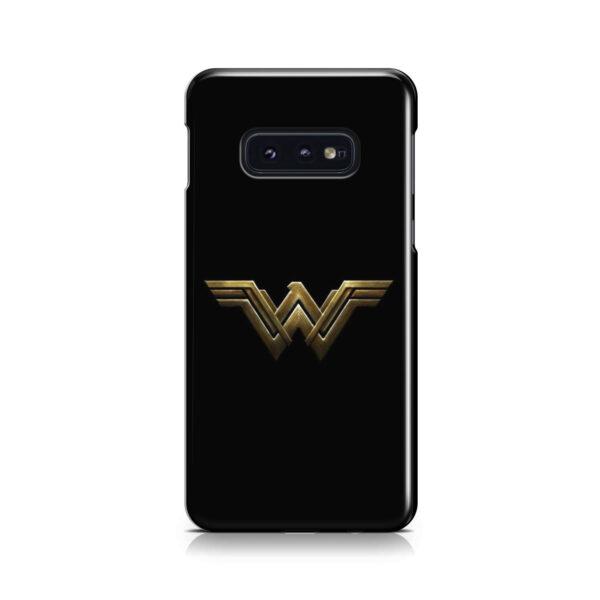 Wonder Woman Logo for Stylish Samsung Galaxy S10e Case Cover